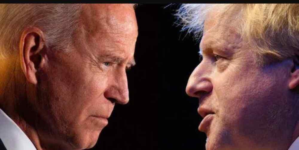 Joe Biden se prepara para advertir a Boris Johnson sobre Irlanda del Norte cuando llega al Reino Unido para la Cumbre del G7