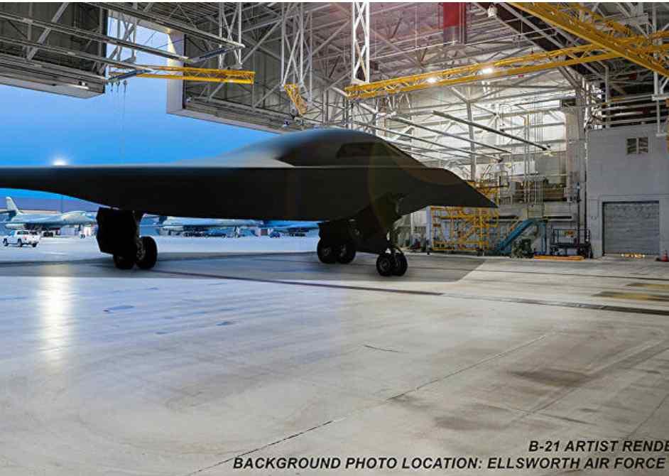 La Fuerza Aérea de Estados Unidos dice que la construcción de los dos primeros bombarderos furtivos B-21 Raider ha sido completada