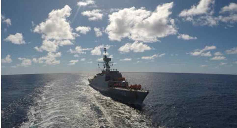 (Video) Buques militares de Irán han ingresado ya al océano Atlántico por primera vez