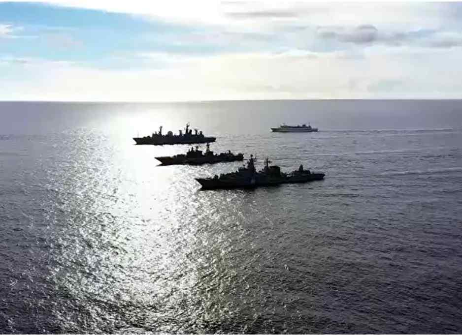 (Video) Vea a la Marina de Rusia iniciar los simulacros a gran escala en el Océano Pacífico