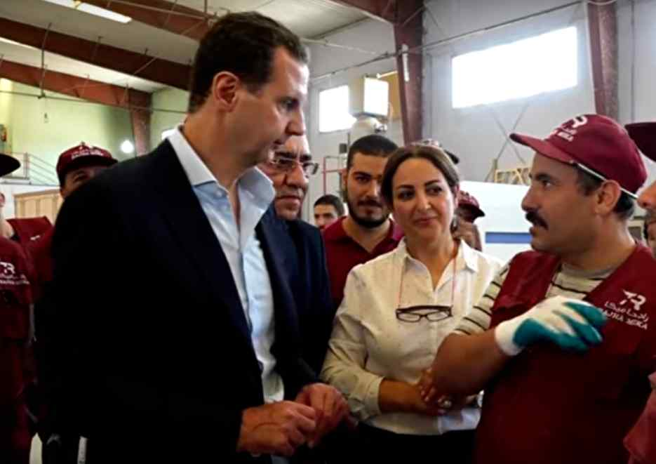 (Video) Presidente de Siria Bashar al Assad dice que el país tiene potencial para superar el asedio aplastante de Occidente