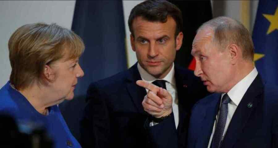 Merkel de Alemania y Macron de Francia supuestamente quieren invitar al Presidente Putin a la Cumbre de los líderes Europeos