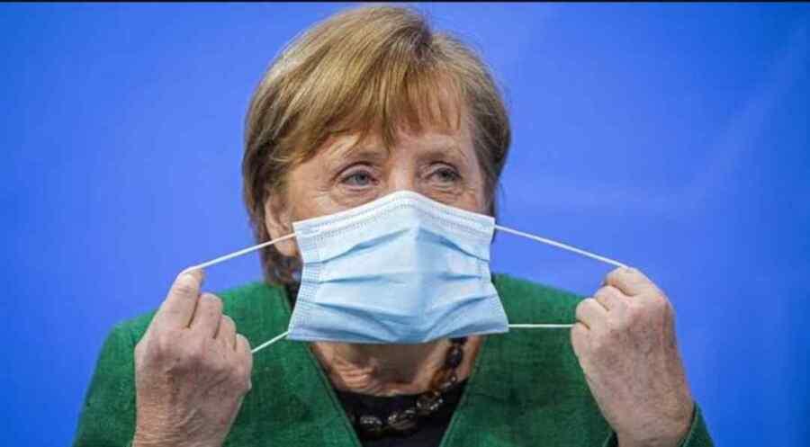 Merkel dice que Alemania debería esperar que surjan más variantes del virus ya que el resto del mundo no está '' totalmente vacunado''