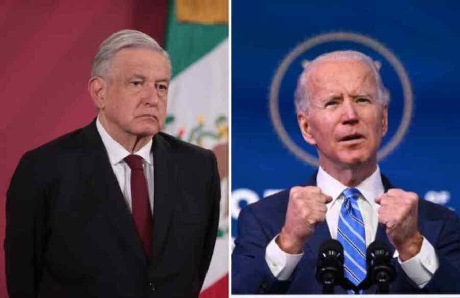 Presidente de México AMLO dice que Joe Biden me aseguró que México no era el patio trasero de Estados Unidos y que nos respetaría