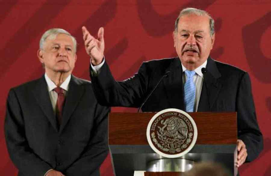 No habrá pleito jurídico con el empresario Carlos Slim por Línea 12 del Metro : Presidente de México AMLO