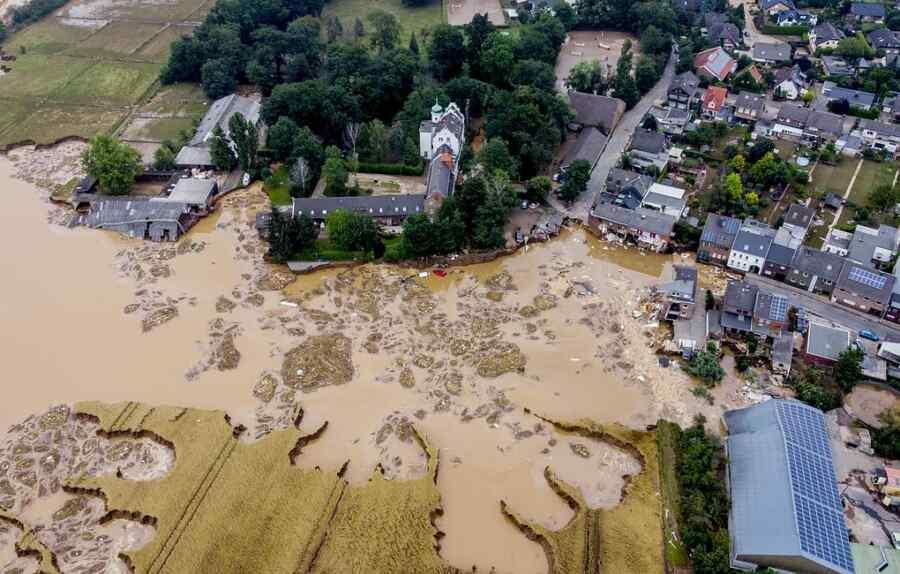 Las inundaciones de Alemania pueden afectar las elecciones para el Bundestag