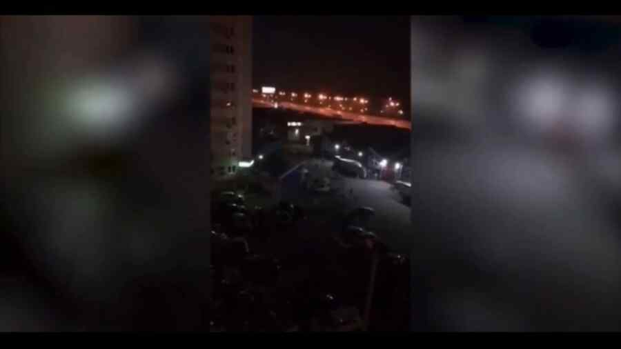 En video-En la región de Moscú, los migrantes protagonizaron una reyerta masiva con balacera incluida