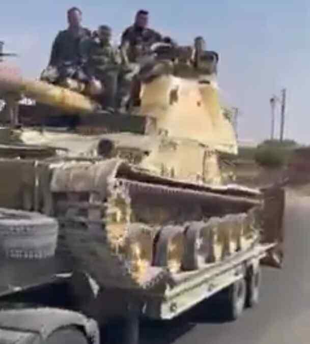 En video-Nuevo refuerzo para las fuerzas de Damasco se registró en la provincia siria de Daraa
