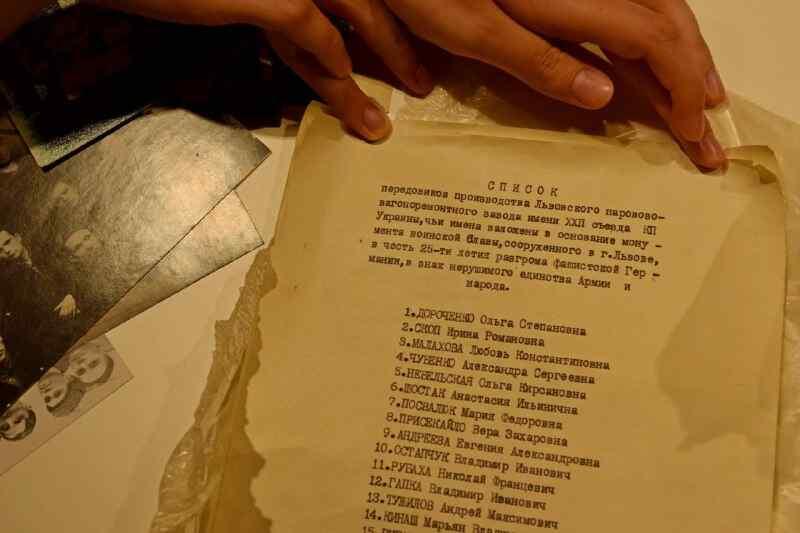 Un hallazgo inesperado fue encontrado en las ruinas de un monumento a los soldados soviéticos en Lvov, Ucrania (+ Fotos)