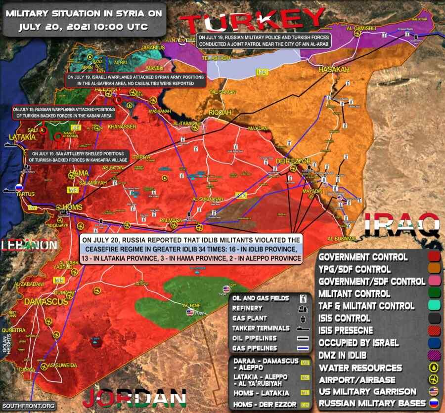 Medio de comunicación: cinco soldados sirios murieron mientras repelían ataques de pandillas en Idlib y Alepo