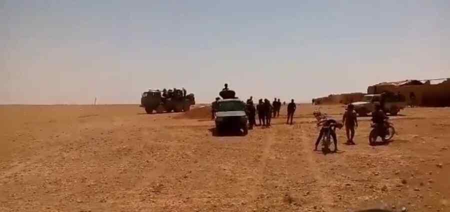 La brigada Al-Quds desplegó refuerzos adicionales en el centro de Siria para combatir al grupo terrorista ISIS