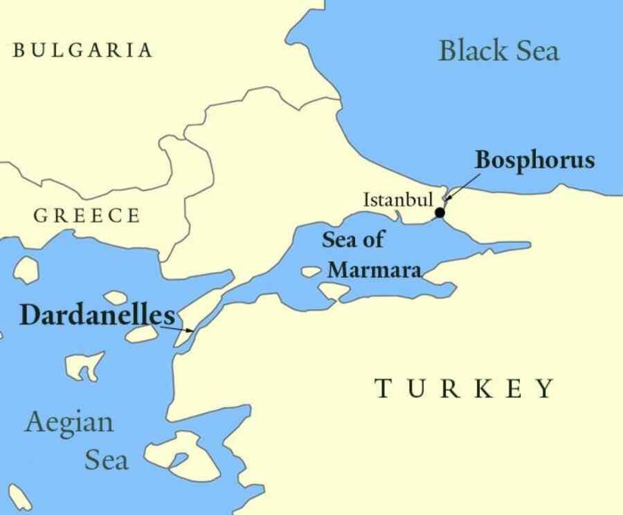 Turquía instó a no vincular la Convención de Montreux y el canal de Estambul