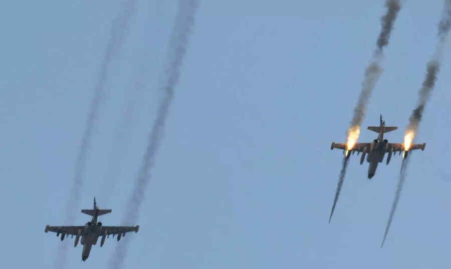Rusia transfirió aviones Su-25 a Tayikistán para ejercicios cerca de la frontera con Afganistán