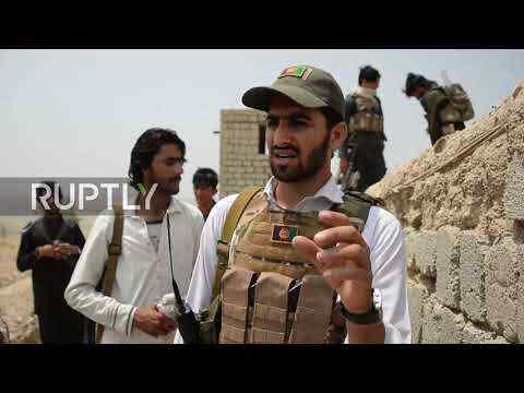 En video-Afganistán: Las milicias de la provincia de Nangarhar se preparan para un levantamiento contra los talibanes