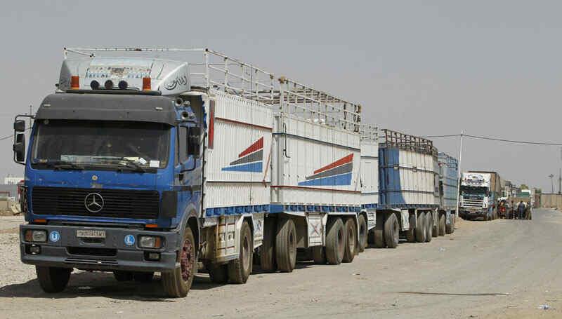 El traslado de mercancías y pasajeros entre Siria y Jordania esta siendo ya facilitada