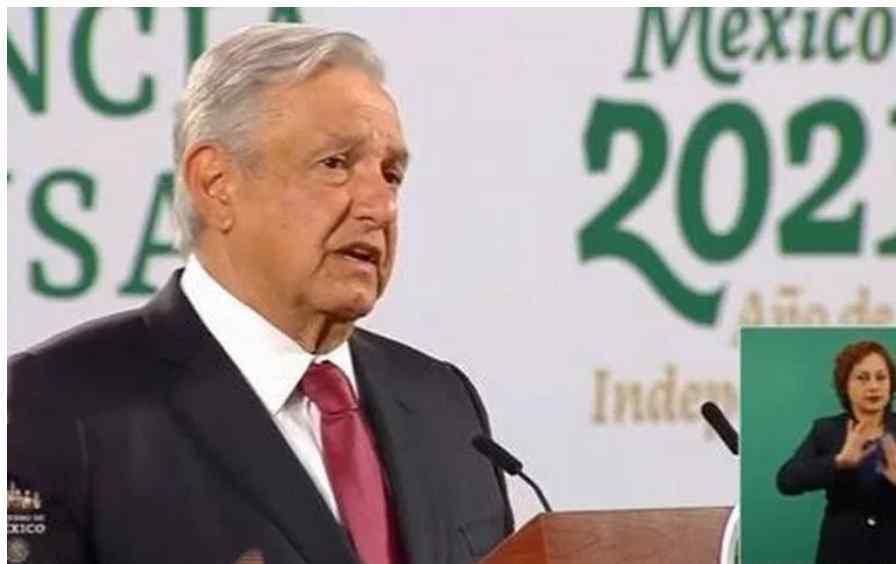 Presidente de México AMLO dice que por intereses creados o desconocimiento no se quiere regresar a clases presenciales