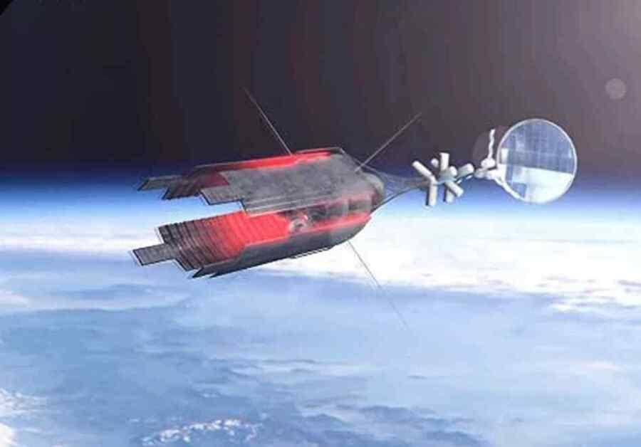 Remolcador espacial de propulsión nuclear Zeus de Rusia puede desactivar los sistemas de naves espaciales enemigas : Diseñador