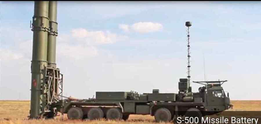 Primer vistazo al sistema de misiles S-500 de Rusia: construido para derribar satélites, aviones hipersónicos y más