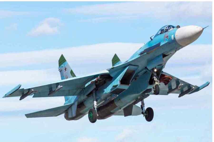 La OTAN considera aún una amenaza los aviones de combate de la era Soviética Su-27 : The National Interest