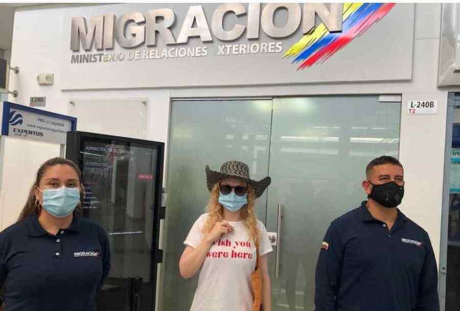 Senador Iván Cepeda y Congresistas critican la expulsión de la joven alemana de Colombia