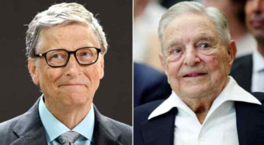 """Los """"remedios"""" que Bill Gates y Soros utilizan para tratar de contrarrestar los males que han causado no curan la enfermedad, sino que la prolongan."""
