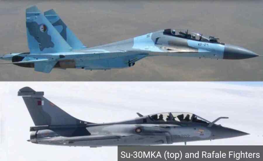 Por qué Argelia rechazó al Rafale de Francia y prefirió el Su-30MKA de Rusia para modernizar su flota de cazas