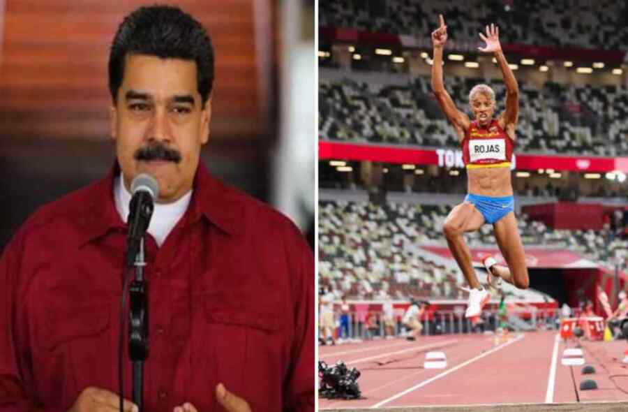 Venezuela celebra título olímpico y récord mundial de Yulimar Rojas