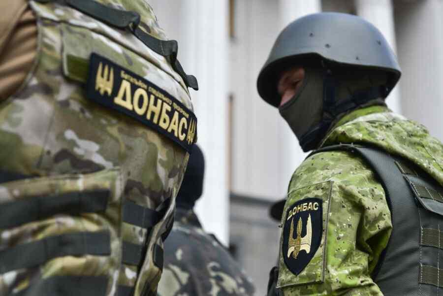 """En la RPD informaron la aparición de elementos del batallón nacionalista ucraniano de extrema derecha """"Donbass"""" cerca de Donetsk"""