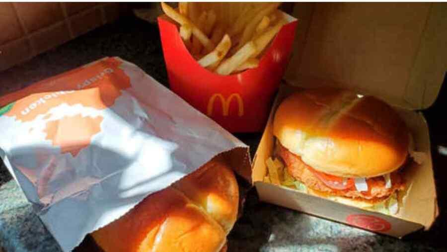 """Empresas estadounidenses nunca permitirían un """"mandato de alimentos saludables"""" así como tienen """"mandatos de enmascaramiento"""" ya que la comida chatarra es demasiado rentable"""