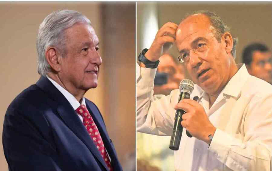 """Qué bien que no le guste"""": López Obrador responde a Felipe Calderón por la visita a México del presidente de Cuba"""