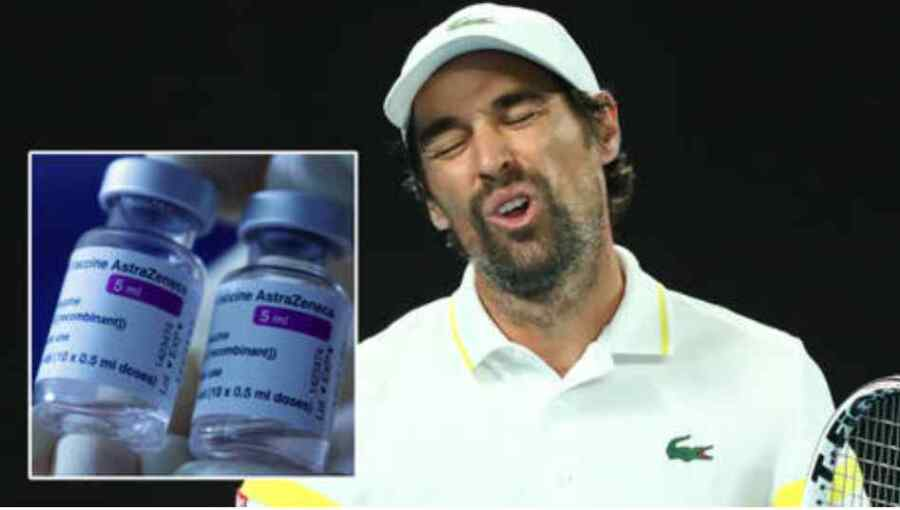 """""""No puedo practicar, no puedo jugar"""": El as del tenis finaliza la temporada y admite que se arrepiente de haberse inyectado la vacuna del Covid después de sentir un """"dolor violento"""""""