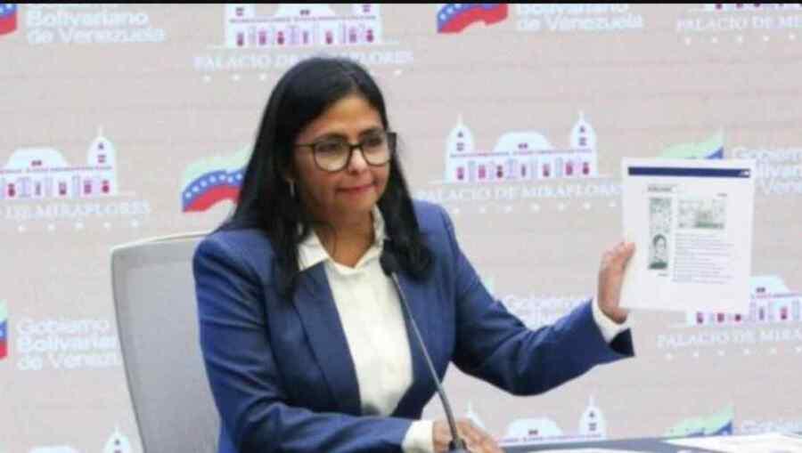 Delcy Rodríguez de Venezuela anuncia nueva expresión monetaria de bolívar digital