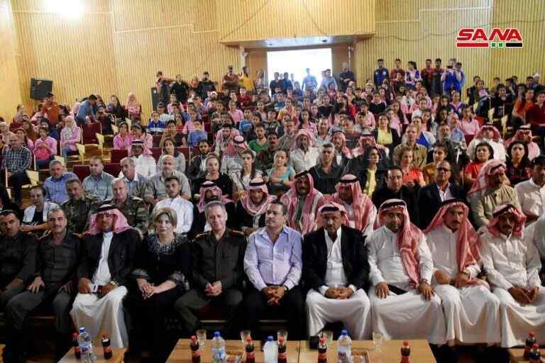 Siria: Con motivo del aniversario de la Guerra de Liberación de Octubre, se realizaron actos festivos en las provincias (+ Fotos)