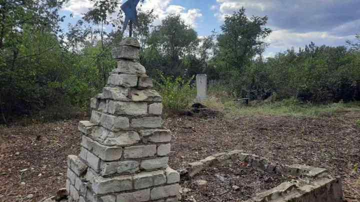 En el Donbass se encontró una fosa común de 80 soldados soviéticos que murieron en 1943