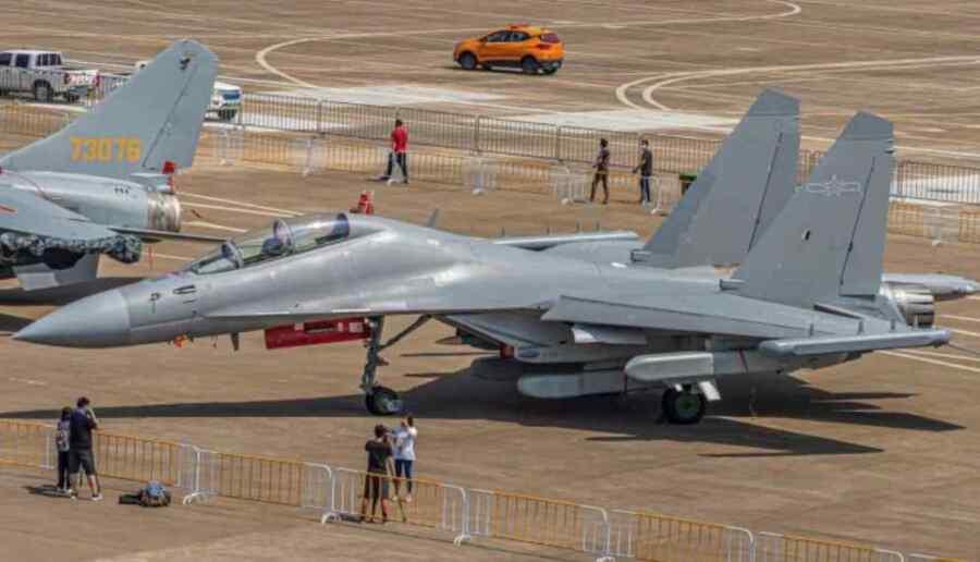 El despliegue de China de los nuevos aviones de ataque electrónicos J-16D coloca a las defensas aéreas de Taiwán en la mira
