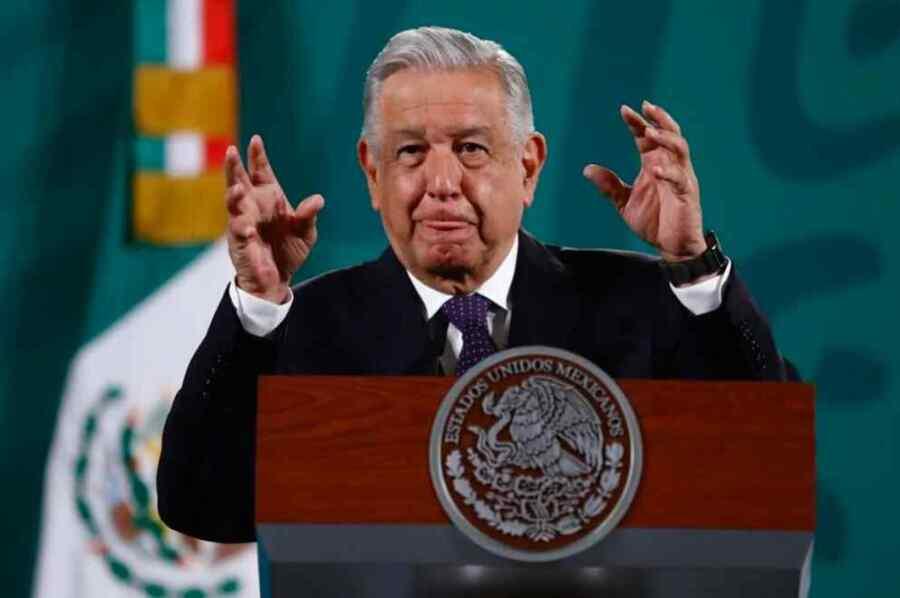 """Es una """"promiscuidad política"""" la reunión de los presidentes de los partidos con los empresarios: Presidente de México AMLO"""