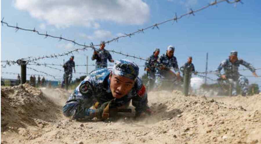 """""""Absolutamente justo"""": China dice que sus ejercicios militares cerca de Taiwán son una respuesta a sus provocaciones y colusión con potencias extranjeras"""