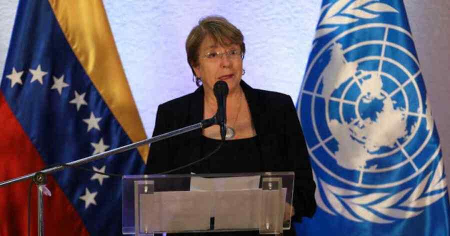 Venezuela rechaza el pronunciamiento de la alta comisionada de los Derechos Humanos Michelle Bachelet