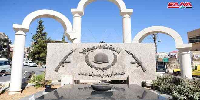 Siria: Monumentos a la memoria de los héroes caídos abiertos en los suburbios de Damasco